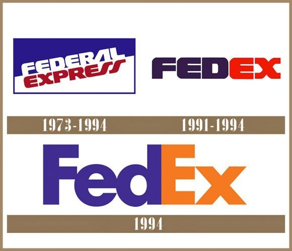 FedEx logo História