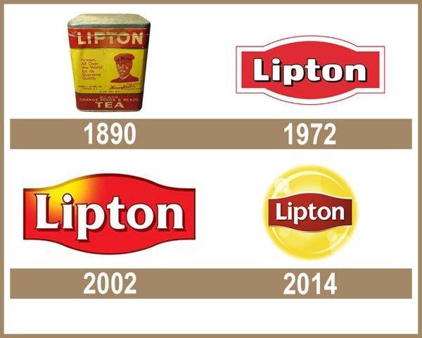 Lipton logo História