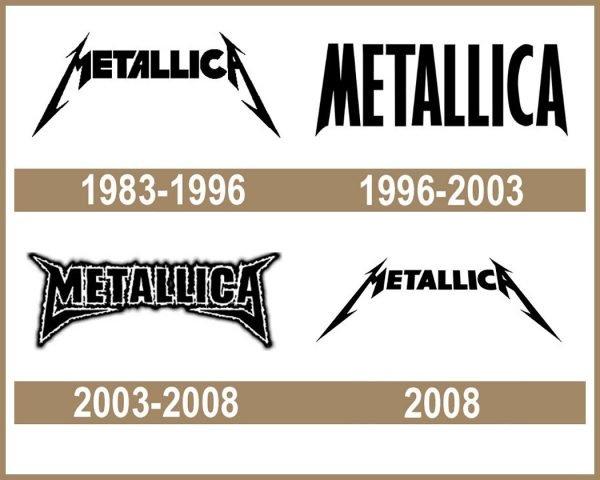 Metallica logo História