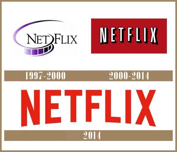 Netflix logo História