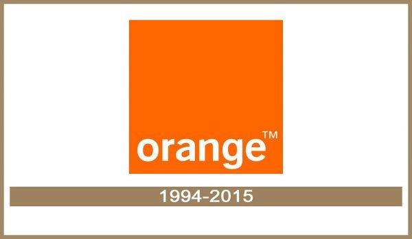Orange logo História