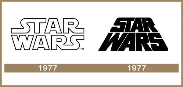 StarWars logo História