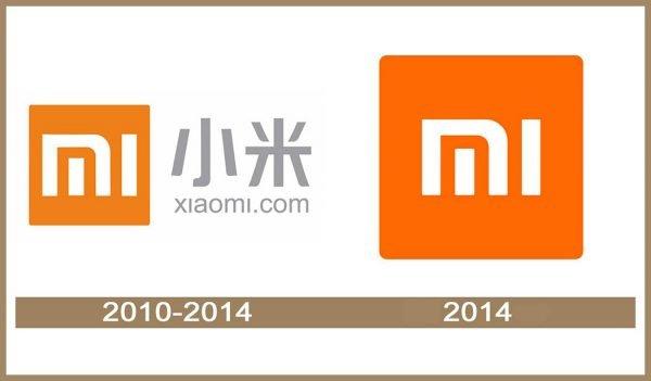 Xiaomi logo História