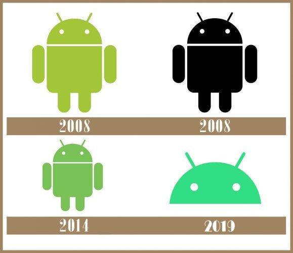 Android logo historia