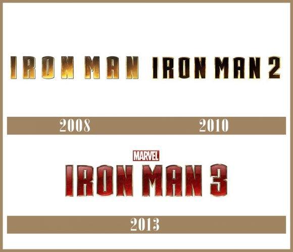 Iron Man Logo historia
