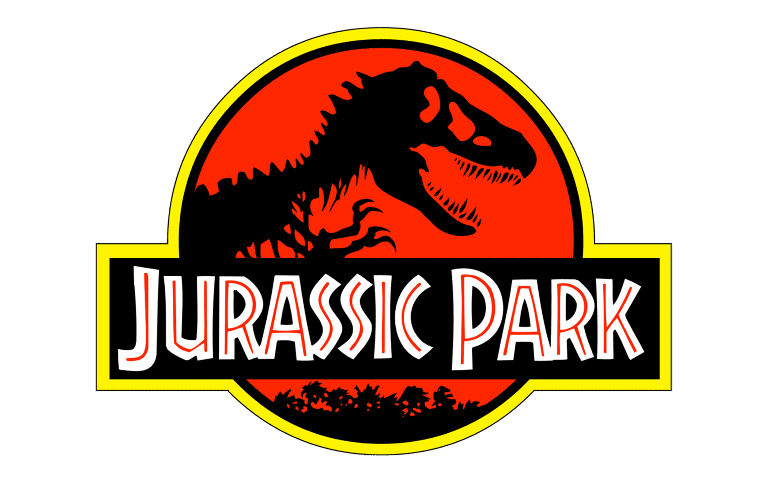 Logo Jurassic Park: valor, história, png, vector
