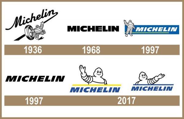 Michelin logo historia