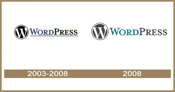 Wordpress logo historia