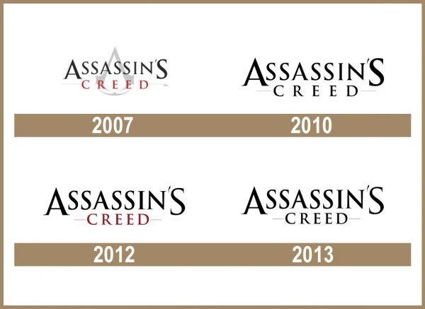 Assassins Creed logo historia