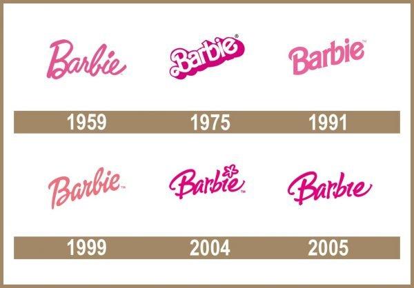 Barbie Logo historia