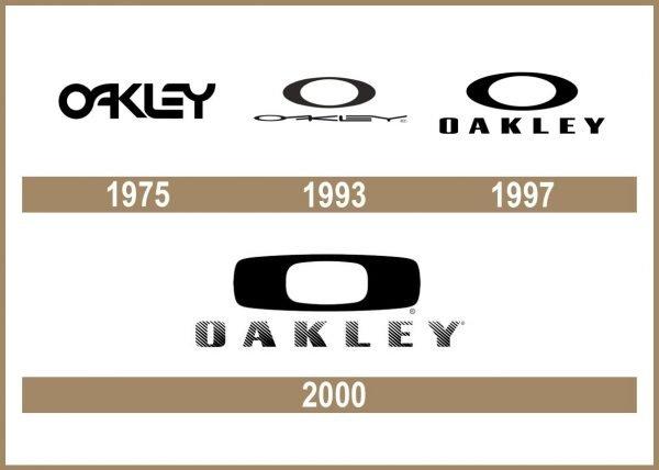 Oakley logo historia