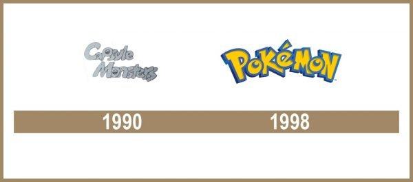 Pokémon logo historia