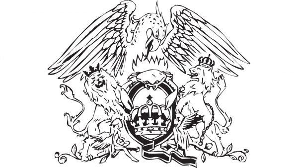 Queen logo emblema