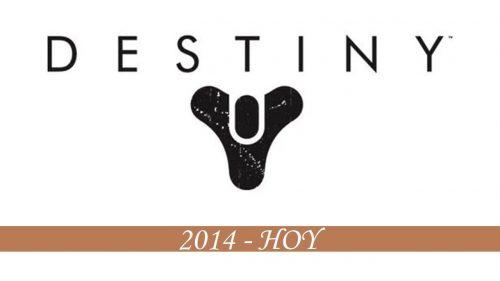 Historial del logotipo de Destiny