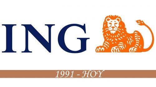 Historia del logotipo de ING