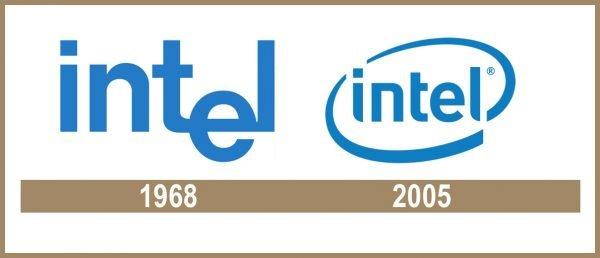 Intel Logo historia