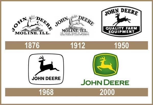 John Deere logo historia