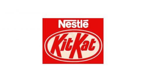 Kit Kat Logo 1988