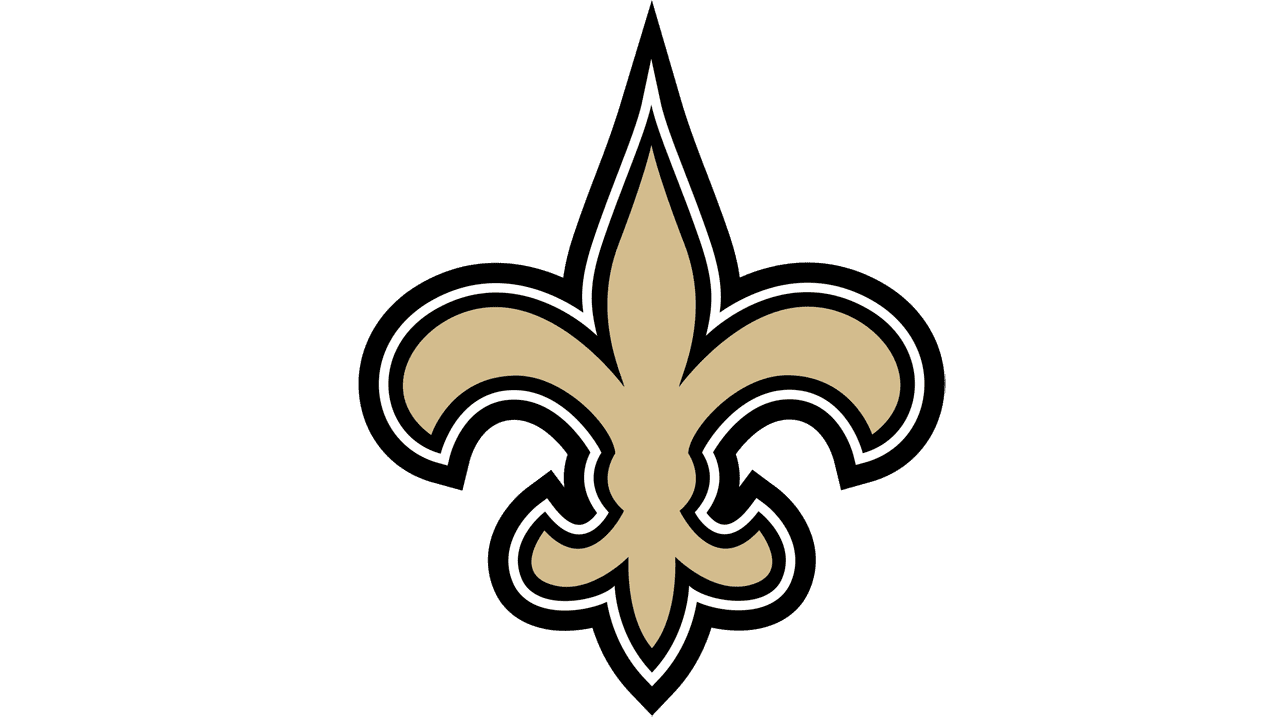 Logo New Orleans Saints: valor, histria, png, vector