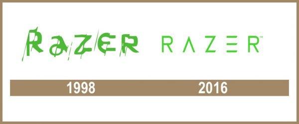 Razer logo historia