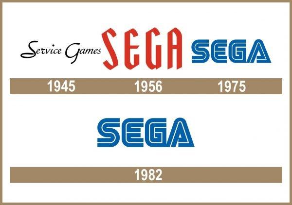 Sega logo historia