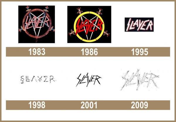 Slayer logo historia