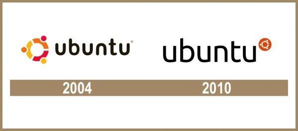 Ubuntu logo historia