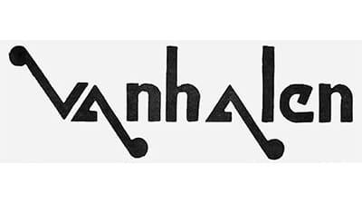 Van Halen Logo 1972