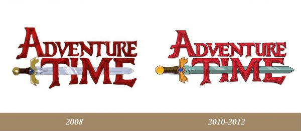 Adventure Time Logo history