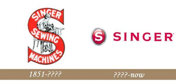 Singer Logo history
