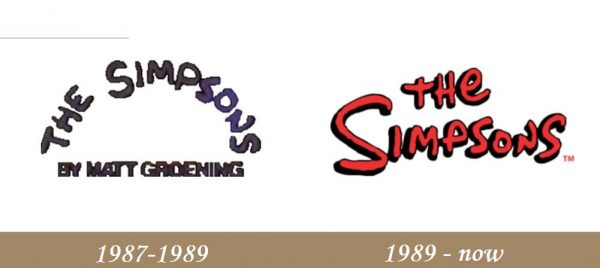 The Simpsons Logo history