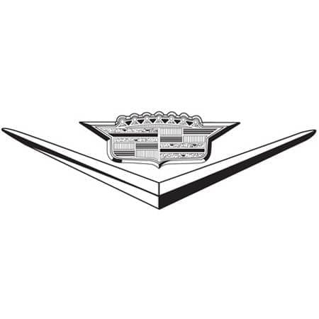cadillac logo 1957