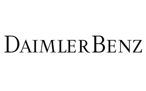 Daimler Logo 1926