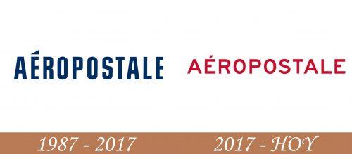 Historia del logotipo de Aeropostale