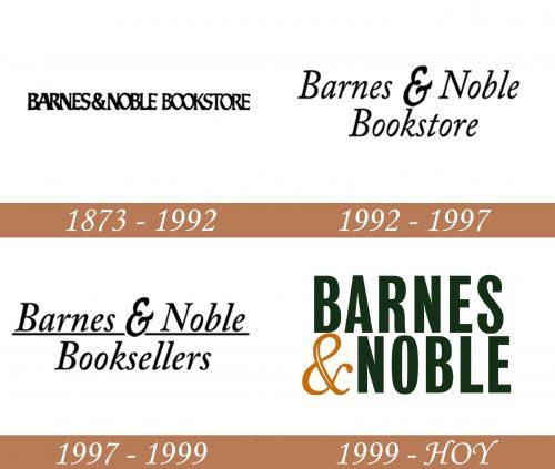 Historia del logotipo de Barnes & Noble