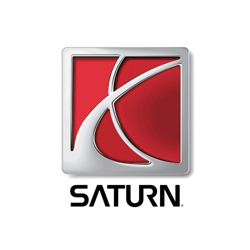 Saturn car logo